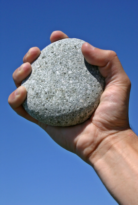 first stone